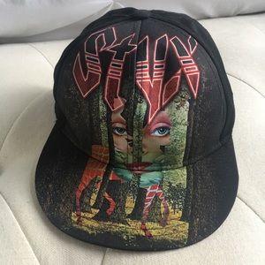 Gorra Styx Grand Illusion Album Rock Tour Hat Cap